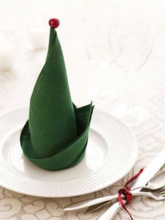 Creative Napkin Folds for Your Holiday Table (43)