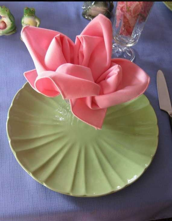 Creative Napkin Folds For Your Holiday Table Family