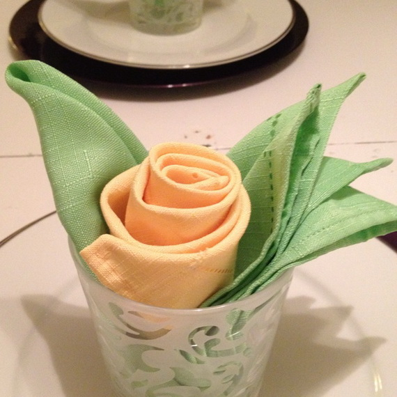 Creative Napkin Folds for Your Holiday Table (7)