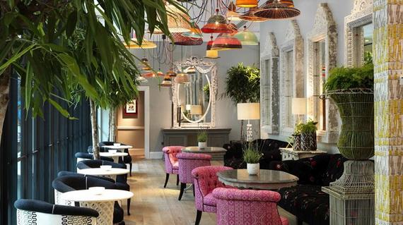 Inside New Luxury Boutique Hotel Ham Yard In London_73