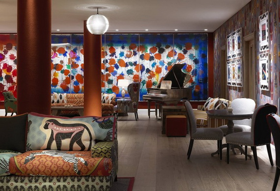 Inside New Luxury Boutique Hotel Ham Yard In London_86