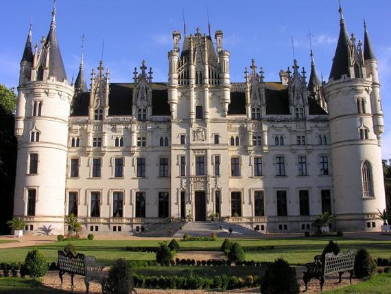 Luxury Destination Wedding in Chateau De Challagne, _10