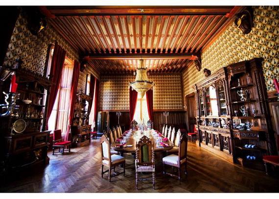 Luxury Destination Wedding in Chateau De Challagne, _11