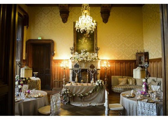 Luxury Destination Wedding in Chateau De Challagne, _13