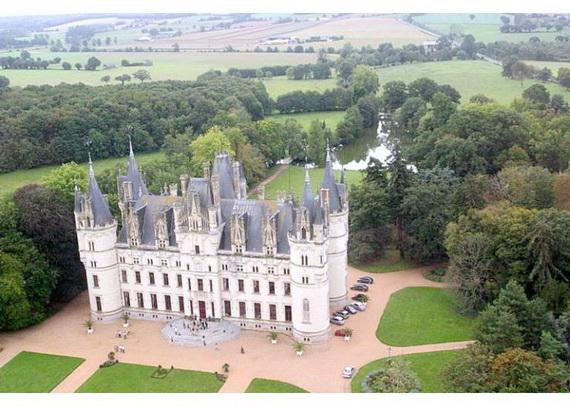 Luxury Destination Wedding in Chateau De Challagne, _37