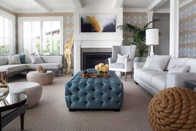 Dignified Ambiance in the North Bay by Green Couch Interior Design