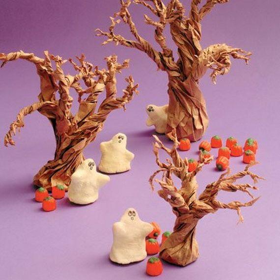 35 Spooky and Fun DIY Halloween Crafts Ideas _11