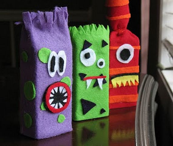 35 Spooky and Fun DIY Halloween Crafts Ideas _24