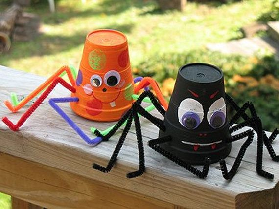 35 Spooky and Fun DIY Halloween Crafts Ideas _25
