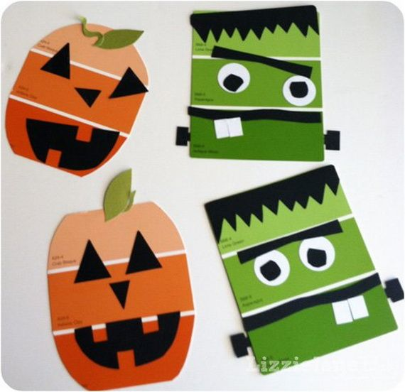 35 Spooky and Fun DIY Halloween Crafts Ideas _26