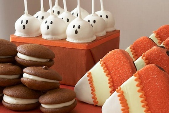 45 Edible Decoration Ideas for Halloween Cakes and Cupcakes_08