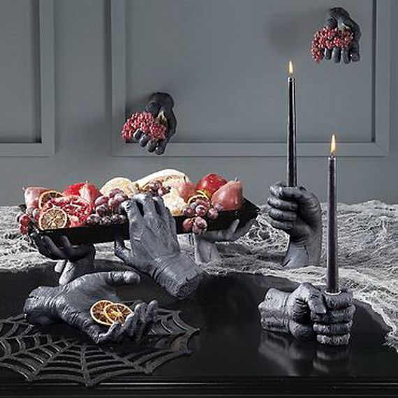 50 decorating ideas and adornments for halloween family - Deco de table halloween ...