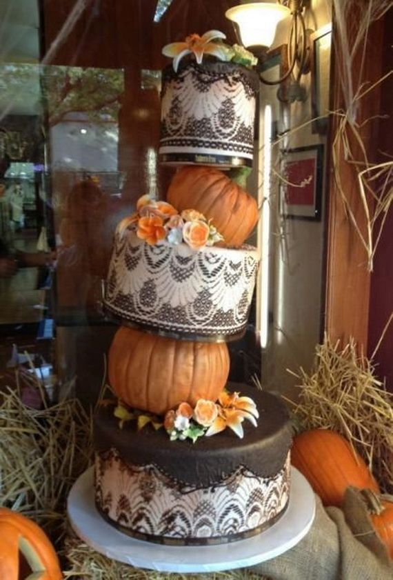 fabulous fall cakes and cupcakes decorating ideas 10 - Halloween Inspired Cupcakes