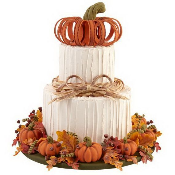 Fabulous Fall Cakes and Cupcakes Decorating Ideas (26)