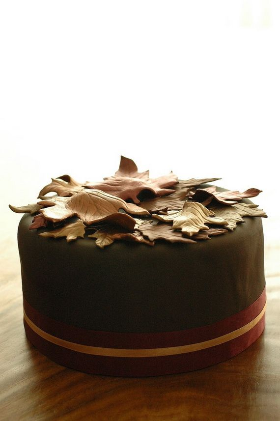 Fabulous Fall Cakes and Cupcakes Decorating Ideas (28)