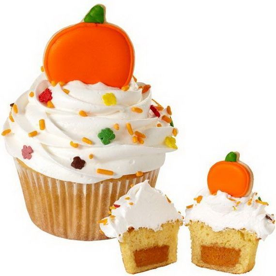 Fabulous fall cakes and cupcakes decorating ideas for