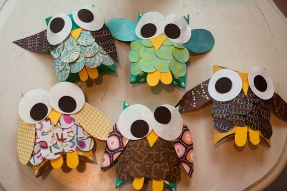 Fall Crafts With Children – Owl Handicraft For Cozy Hours (29)