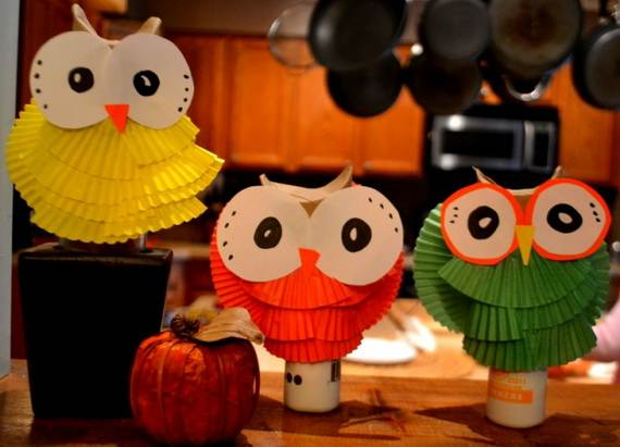 Fall Crafts With Children – Owl Handicraft For Cozy Hours (3)