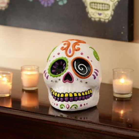 Mexican Day of the Dead Decoration ideas_17