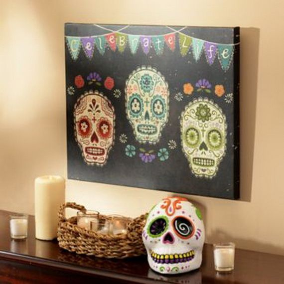 Mexican Day of the Dead Decoration ideas_18