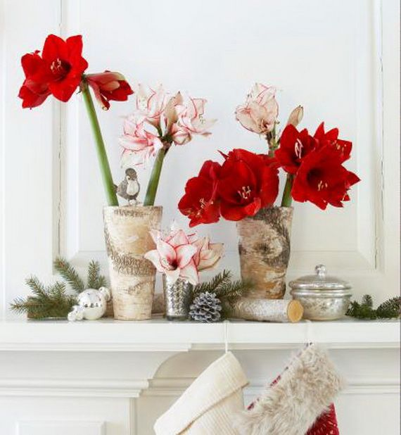 35 Gorgeous Holiday Mantel Decorating Ideas with Pine cones_13