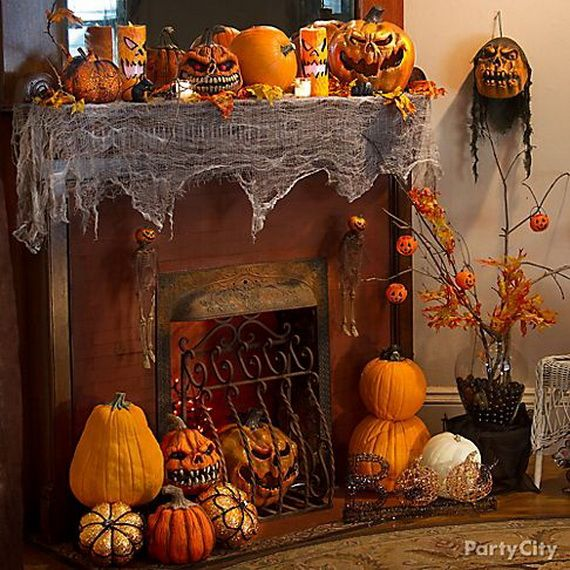 36 Spooky Halloween Decoration Ideas For Your Home_26