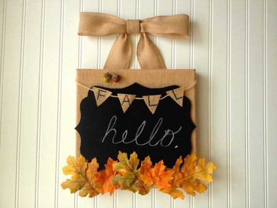 45 Great craft ideas for autumn decorations for inside and outside_09
