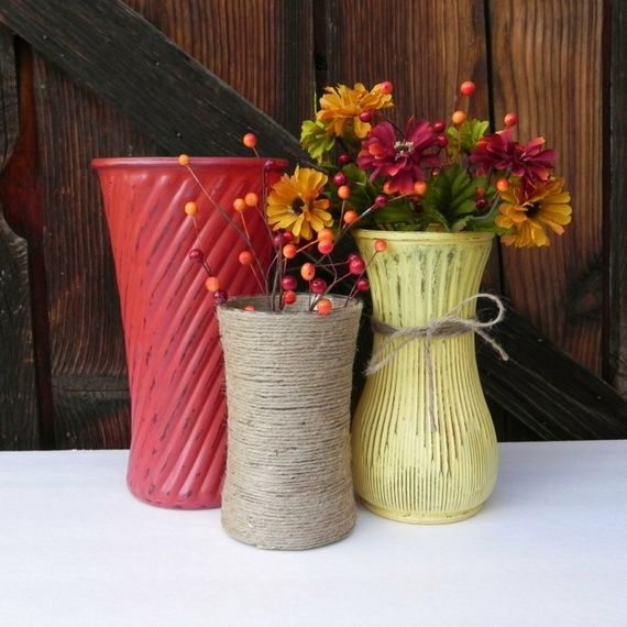 45 Great craft ideas for autumn decorations for inside and outside_25