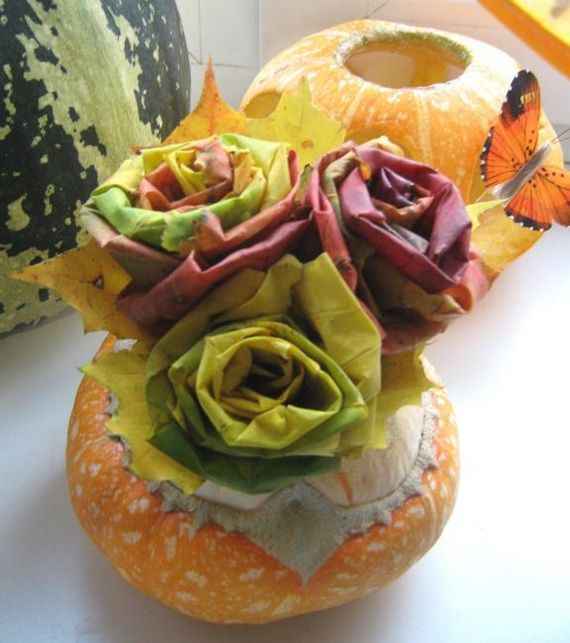 45 Great craft ideas for autumn decorations for inside and outside_34