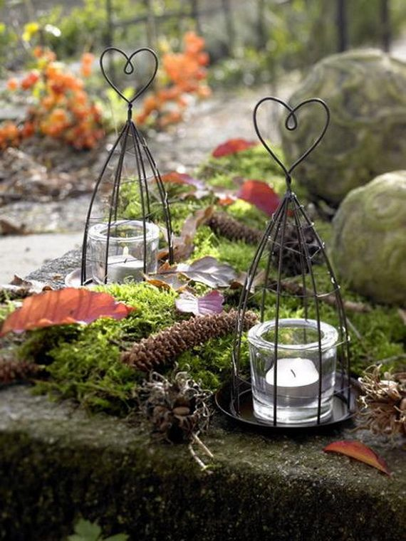 45 Great craft ideas for autumn decorations for inside and outside_36