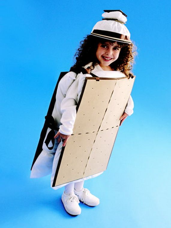 60 Homemade Halloween Costumes for Kids _42