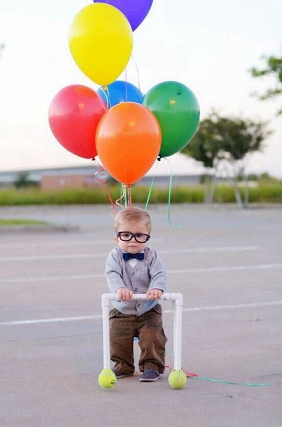 60 Homemade Halloween Costumes for Kids _45