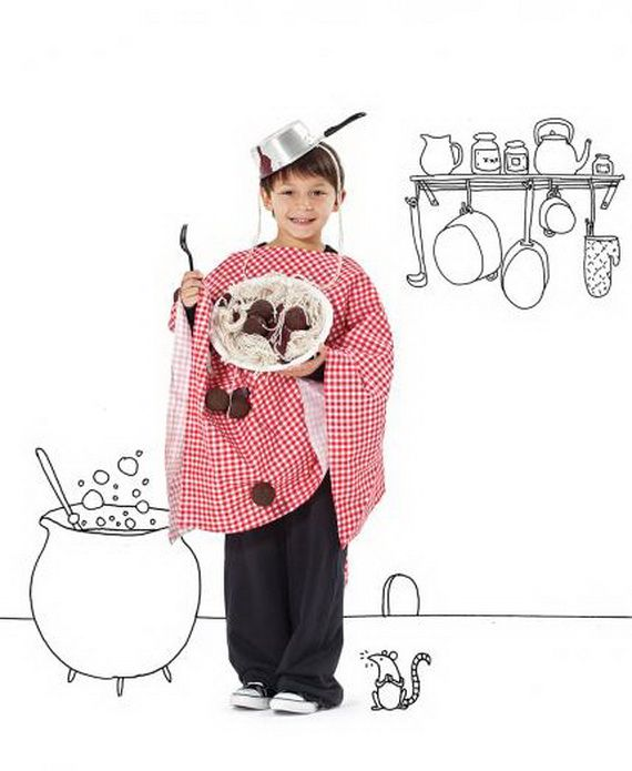 60 Homemade Halloween Costumes for Kids _56