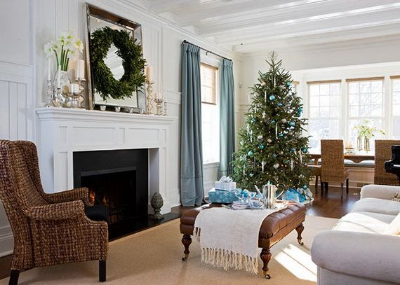 Beautiful, Glamorous Holiday Home in Blue and White_11