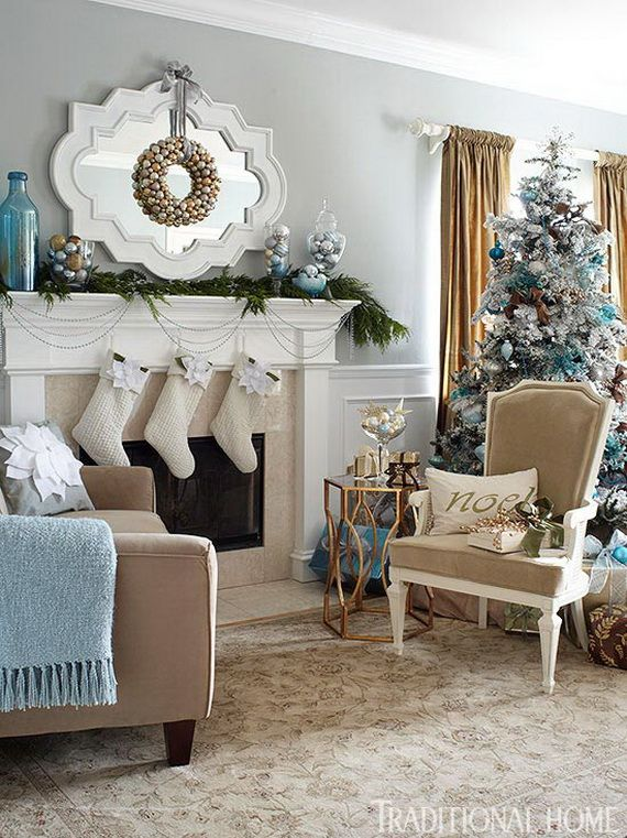 Beautiful, Glamorous Holiday Home in Blue and White_24