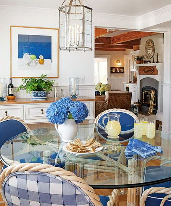 Beautiful, Glamorous Holiday Home in Blue and White_27