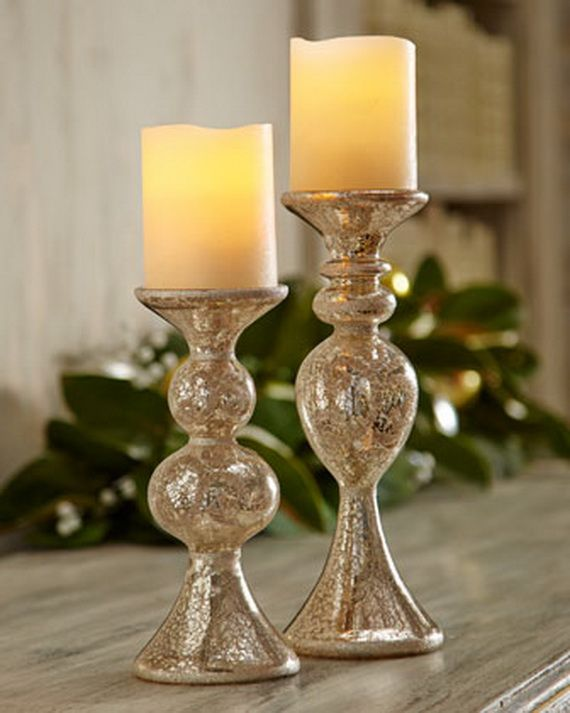 Beautiful Mercury Glass Decorations For Your Coming Holidays _01 Good Ideas