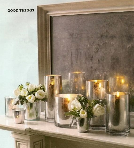 Beautiful Mercury Glass Decorations For Your Coming Holidays _04