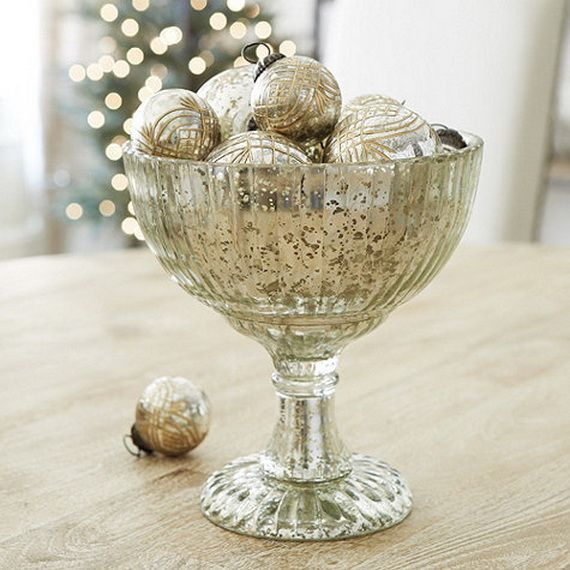 beautiful mercury glass decorations for your coming