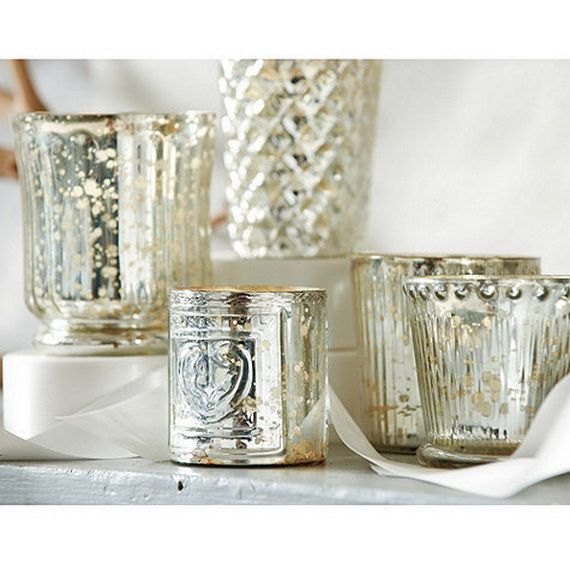 Beautiful Mercury Glass Decorations For Your Coming Holidays _10