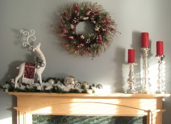 Beautiful Mercury Glass Decorations For Your Coming Holidays _27 Awesome Design