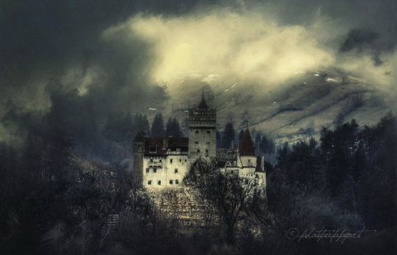 Best Destinations for Halloween Bran Castle - Dracula's Castle_34