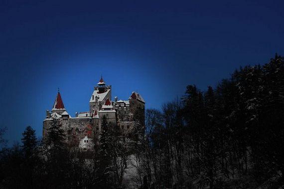 Best Destinations for Halloween Bran Castle - Dracula's Castle_46