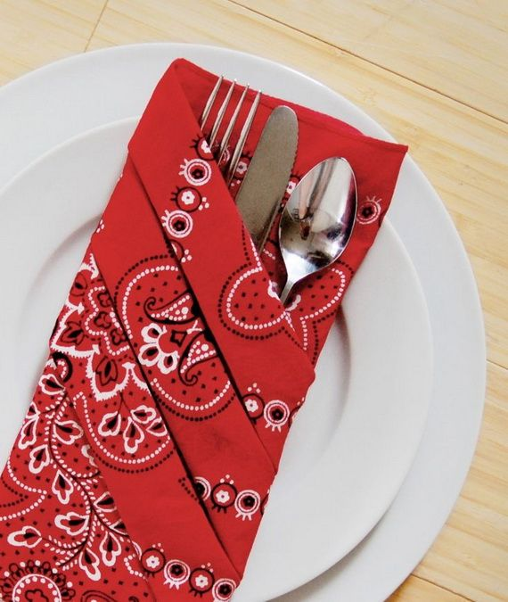Creative Elegant Napkin Ideas You Can't Screw Up For Any Occasion_05