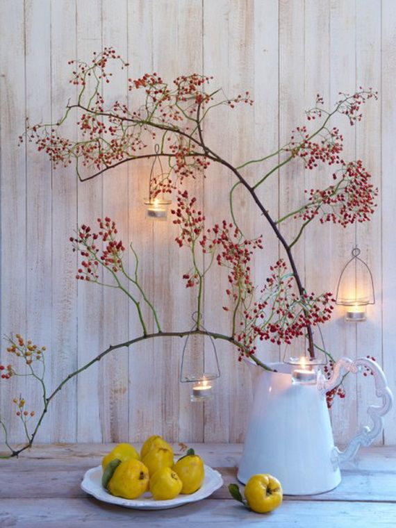 Fantastic Autumn Decoration Ideas and Beautiful Arrangements_11