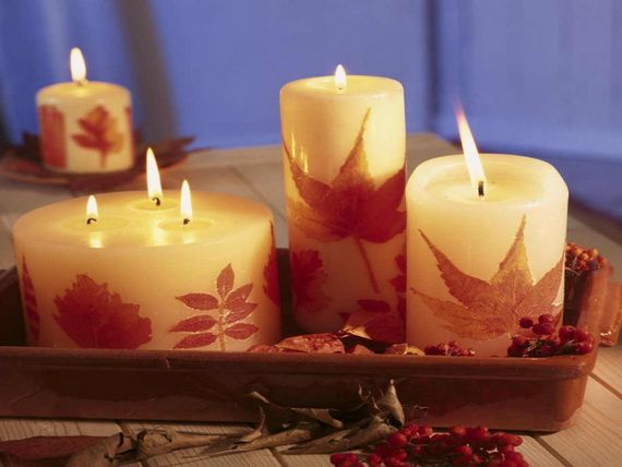 60 Fantastic Autumn Decoration Ideas and Beautiful