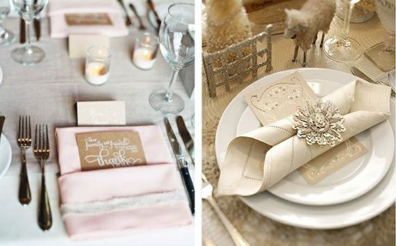 Napkin Folding – Seasonal Ideas For Table Decoration_15