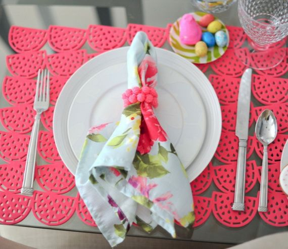 Napkin Folding – Seasonal Ideas For Table Decoration_71
