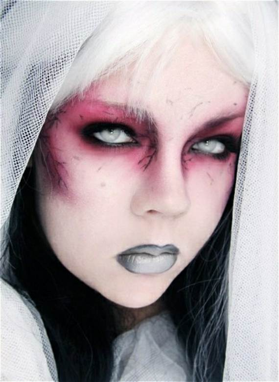 Pretty and scary Halloween makeup ideas for the whole - Pretty Halloween Makeup Ideas