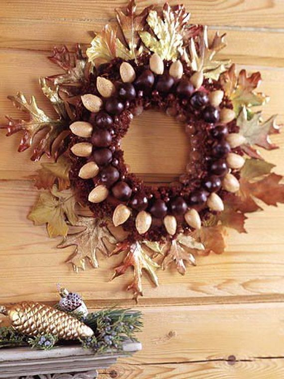 Splendid Fall Wreaths U0026 Door Decoration Ideas And Inspiration_001